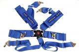 Bezpečnostný pás Pro Sport 6-bodový modrý - 76mm (FIA)