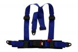 Bezpečnostný pás Pre Sport Monza 3-bodový modrý - 50mm (E)