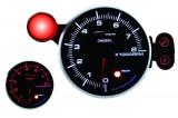 Prídavný budík Depo Racing 95mm - otáčkomer sa shift Light - dieselové motory