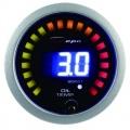 Prídavný budík Depo Racing Digital 2in1 - tlak turba elektronický + teplota oleja
