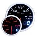 Prídavný budík Depo Racing Dual View - tlak paliva