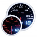 Prídavný budík Depo Racing Dual View - tlak turba elektronický