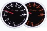 Prídavný budík Depo Racing WA 60mm - voltmeter