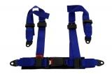 Bezpečnostný pás Pre Sport Monza 4-bodový modrý - 50mm (E)