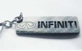 Karbónová kľúčenka Infiniti