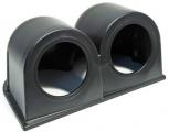 Držiak na palubovku Depo Racing pre 2 prídavné budíky 52mm - čierny