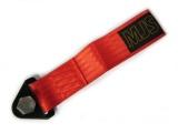 Predné odťahové oko textilné MJS - červené