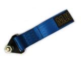 Predné odťahové oko textilné MJS - modré