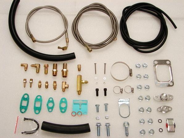 Kompletný kit k turbodúchadlu T3 / T4 Turbo Parts