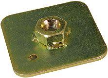 Montážna kotviace podložka pre bezpečnostné pásy (oceľ) Sandtler