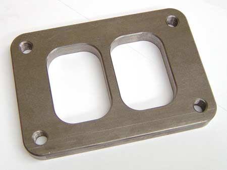 Príruba na zvody T6 delená (oceľ) Turbo Parts