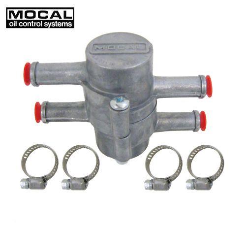 Termostat močiarov inline pre olejové vedenie 1/2 palca (13mm) Mocal