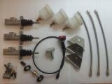 Inštalačný kit Compbrake pre pedálový box - Option D