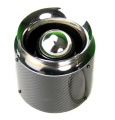 Športový filter karbón univerzálny 76mm - dĺžka 155mm
