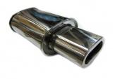 Koncový tlmič výfuku ProRacing MP11 - nerez - 63,5 mm