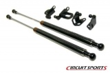 Karbónové vzpery kapoty Circuit Sports Subaru Impreza GDF (06-07)