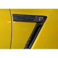 Karbónové držiaky znakov na blatníkoch Knight Racer Nissan GT-R R35