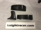 Karbónové medzikusy pre zvýšenie základne zadného spojlera Knight Racer Nissan GT-R R35