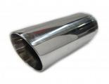 Koncovka výfuku kulatá zkosená - průměr 76mm