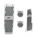 Pedále ProRacing pre BMW E30 / E32 / E34 / E36 / E38 / E39 / E46 / E60 / E61 / E87 / E90 / E91 / E92 / E93 / X1 s logom M technik - manuálna prevodovka