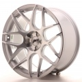 Alu kolo Japan Racing JR18 19x9,5 ET35 5H Blank Silver M