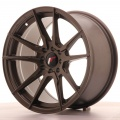 Alu kolo Japan Racing JR21 17x9 ET35 5x100/114 Matt Bronze