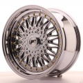 Alu kolo Japan Racing JR9 17x8,5 ET20-35 Blank Chrome