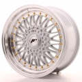 Alu kolo Japan Racing JR9 17x8,5 ET20-35 Blank Silver