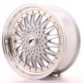 Alu kolo Japan Racing JR9 18x8 ET35-40 Blank Silver