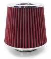 Športový filter univerzálny 60/65/70/76 / 90mm červený