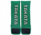 """Návleky na bezpečnostné pásy Takato 76mm (3 """") - zelené"""